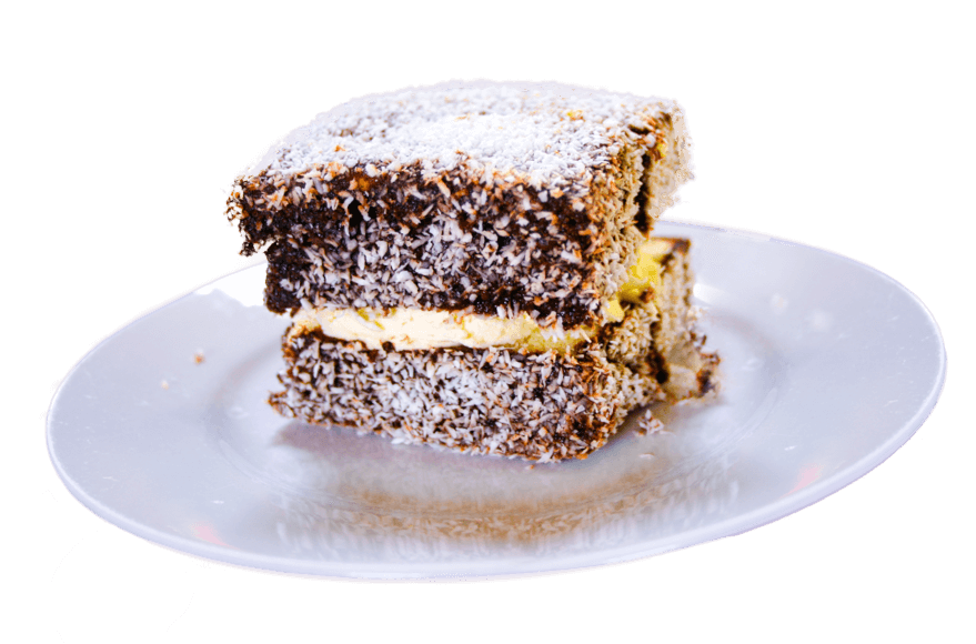 Lamingtons cake Australie