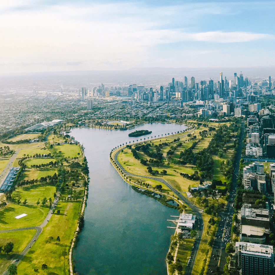 Melbourne aerial shot of city 2097616 2 1