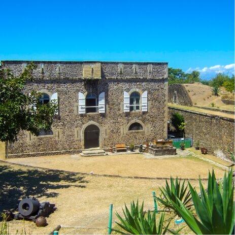 Fort Napoléon des Saintes Guadeloupe