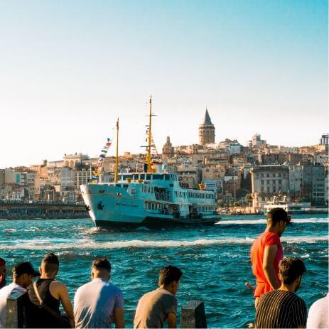 Istanbul Turquie meric dagli