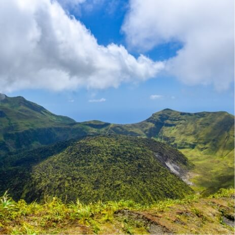 Volcan Soufriere Guadeloupe