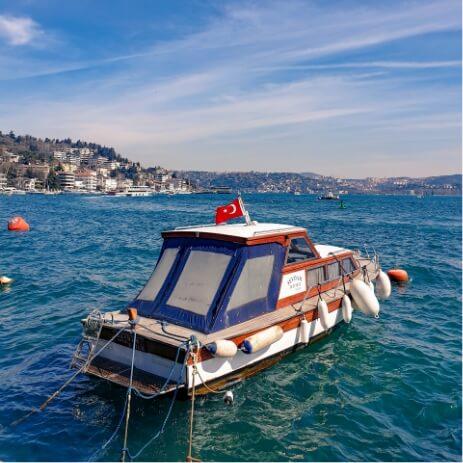 bateau istanbul turquie