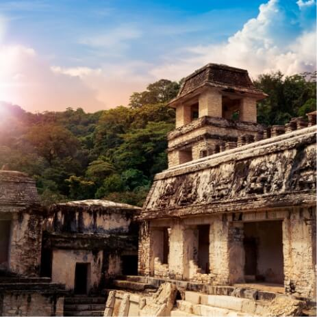 ruines mayas palenque chiapas