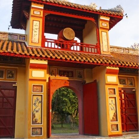 Forbidden city, Hue
