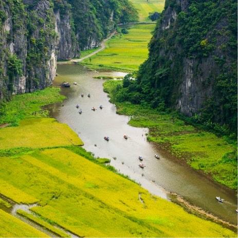 Tam Coc Ninhbinh, Vietnam
